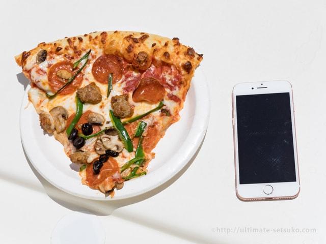 コストコのフードコートのピザの比較