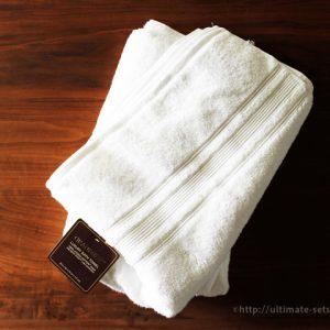 コストコで買ったバスタオルが思ったよりすごかった!高品質で安学・化学繊維0、柔軟剤無しでも柔らかな仕上がりのタオル