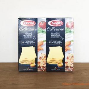 コストコのバリラ ラザニエで自宅で簡単にラザニア作り!乾燥ラザニアシートで手間なしクッキング