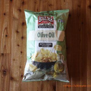 オリーブオイル ポテトチップス
