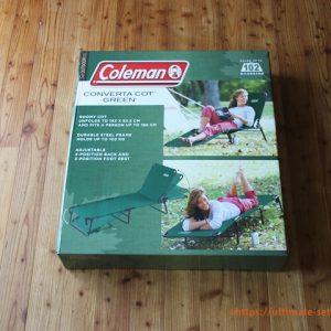 Coleman コットグリーン アウトドアチェア