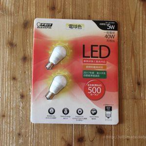 コストコで購入した「FEIT ELECTRIC」のLED電球