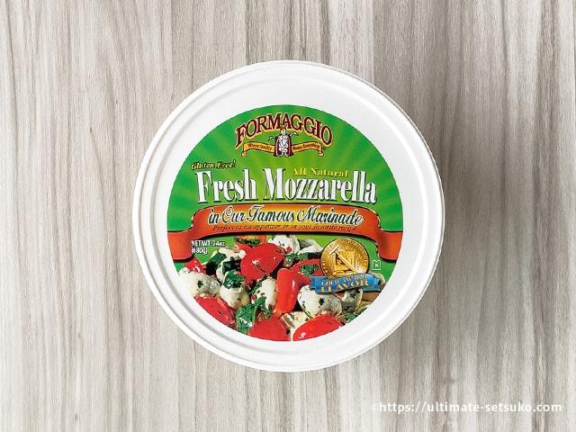 モッツァレラチーズ香味油漬け