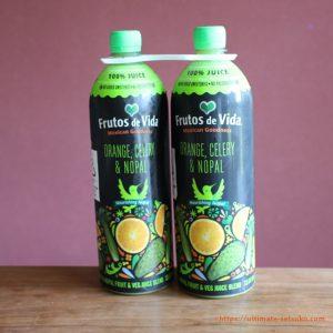 珍しいサボテンジュース!オレンジ&セロリ&ノパールの気になるドリンク