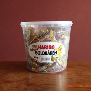 ハロウィンにおすすめなコストコのお菓子!ハリボーゴールドベア、見た目も可愛く小袋包装で便利