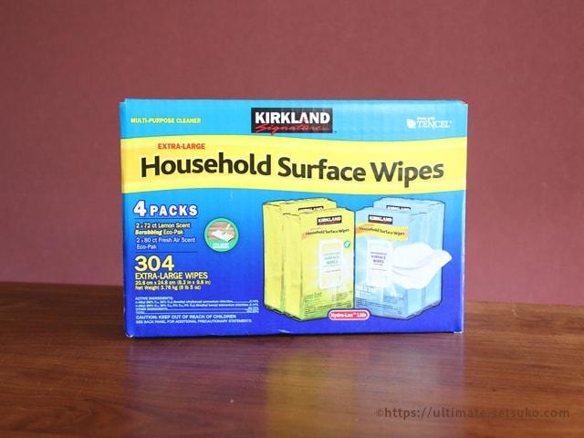 カークランド ハウスホールド Surface Wipes