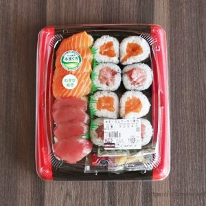 絶品すぎる!コストコ まぐろとノルウェイ直送サーモンのミニ寿司は気軽に食べれる