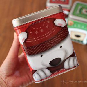 コストコ冬のお買い得商品!寒い時に飲みたいホットココアミックスのギフトパック。缶も可愛いです!