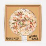 コストコ シーフードピザがさっぱりして美味しい!
