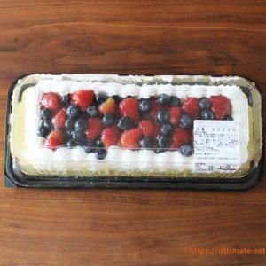 ストロベリーブルーベリーケーキ