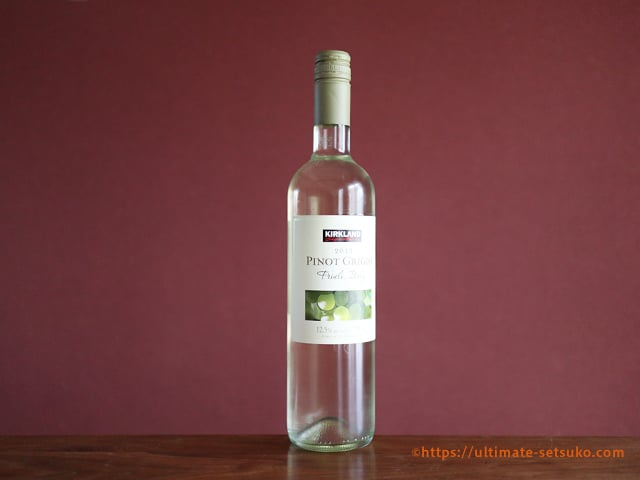 コストコおすすめ白ワイン フリウリ ピノ・グリージョ