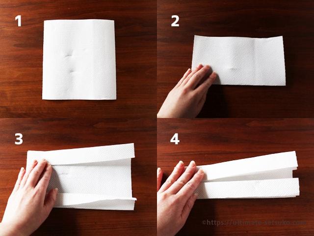 ペーパー ナプキン マスク 作り方