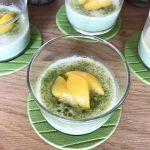 コストコの粉末「宇治抹茶グリーンティ」を使って親子で作れる抹茶プリンに挑戦!