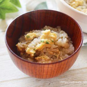 コストコのもずくスープで簡単ほっこり優しいもずく雑炊
