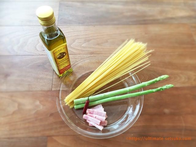 コストコ フレーバーオイルで作るアレンジレシピの材料