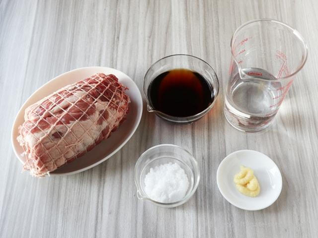 1 豚 位 ロース かたまり 肩 レシピ 人気